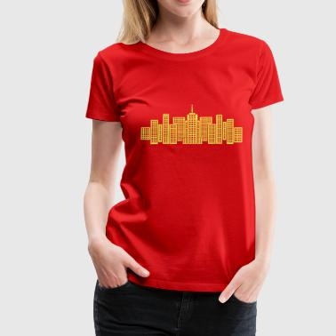 Manhattan City Skyline Manhattan - Women's Premium T-Shirt