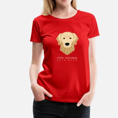 Retriever Golden Retriever - Women's Premium T-Shirt