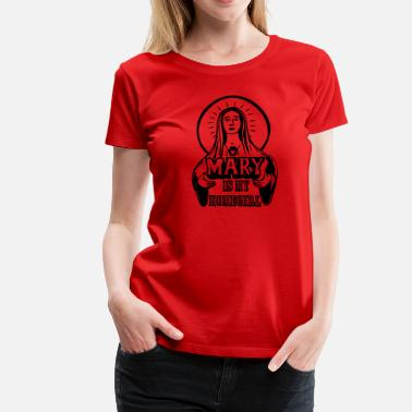 Fernanda Mary is my homegirl - Frauen Premium T-Shirt