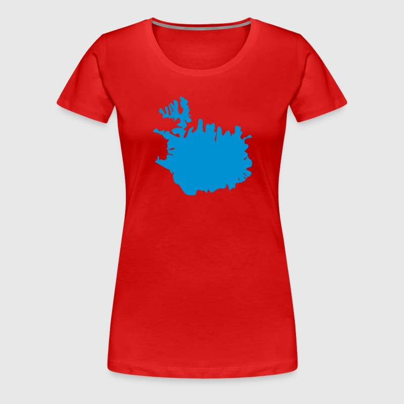 Republik Island - Frauen Premium T-Shirt