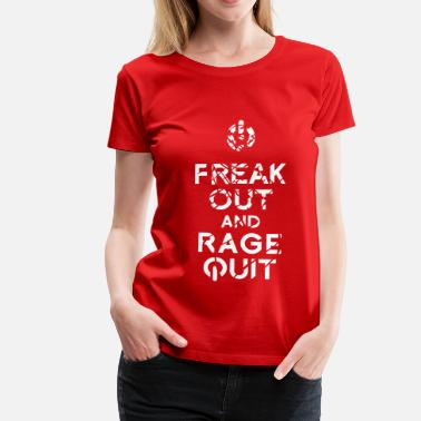 Keep Calm keep calm - Frauen Premium T-Shirt