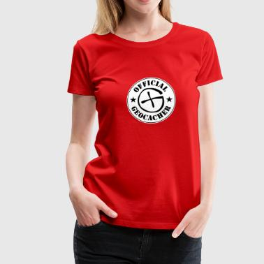 Geocaching - Frauen Premium T-Shirt