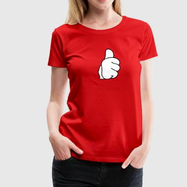 Thumbs Thumbs - Frauen Premium T-Shirt