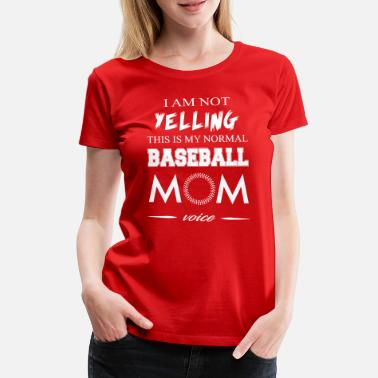 Yell Yelling - Women's Premium T-Shirt
