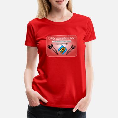 Punctuation Marks Punctuation marks can save lives! - Women's Premium T-Shirt