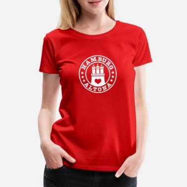 Altona Hamburg Altona district 1c - Vrouwen premium T-shirt