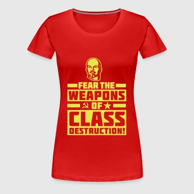 Class Destruction - Naisten premium t-paita