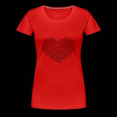 Folk heart - Women's Premium T-Shirt