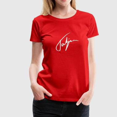 Tatiana in handwriting - Women's Premium T-Shirt