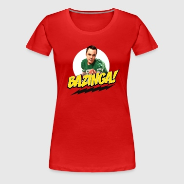 The Big Bang Theory Bazinga Thee shirt Femme - T-shirt Premium Femme