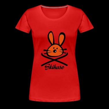 2541614 15935857 skihase - Frauen Premium T-Shirt