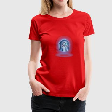 Ghost with monocle - Women's Premium T-Shirt