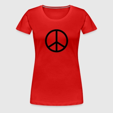 Peace and Love 2 - T-shirt Premium Femme