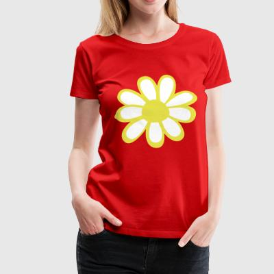 2541614 13548578 flower - Women's Premium T-Shirt