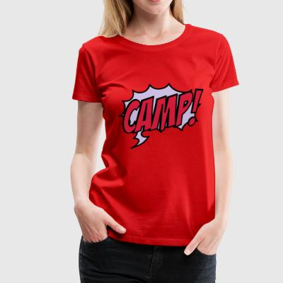 2541614 15932861 camp - Frauen Premium T-Shirt