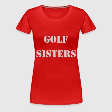 GOLF GOLFSPİELER GOLF COURSE - Women's Premium T-Shirt
