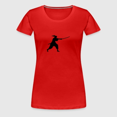 iaido fighter - Frauen Premium T-Shirt
