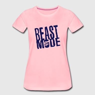 beast mode citation gorille colere  - T-shirt Premium Femme