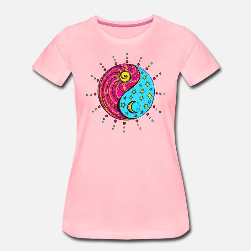 Yin Yang Sun Moon Stars Chinese Symbol By Yuma Spreadshirt