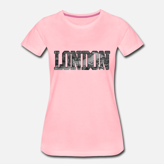 England T-Shirts - London - Women's Premium T-Shirt pink