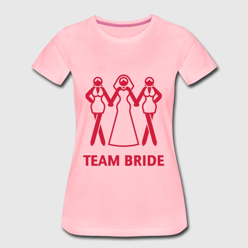 Team Bride (Hen Night, Bachelorette Party) - Women's Premium T-Shirt
