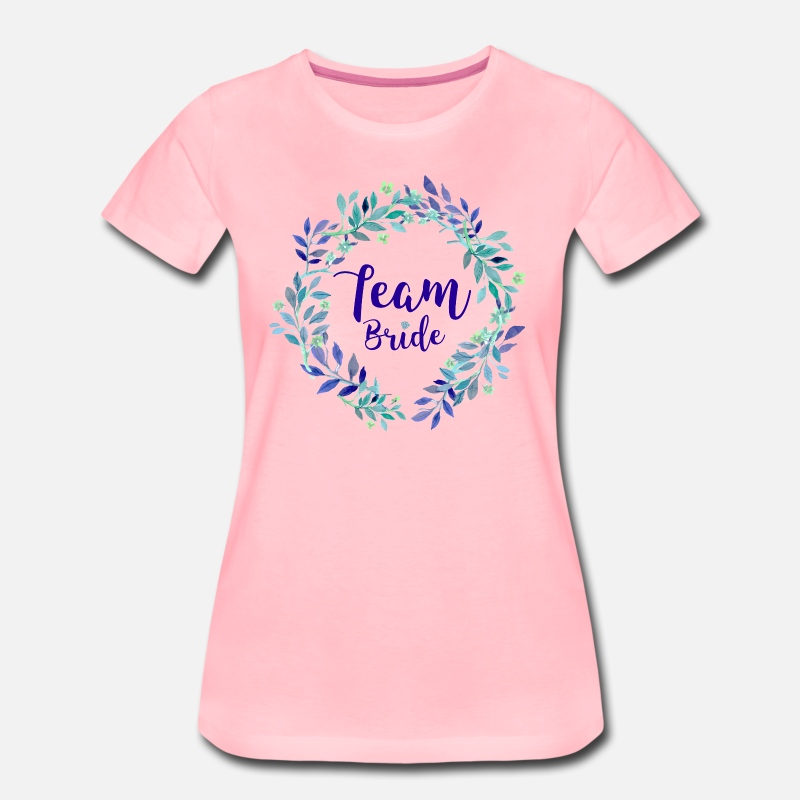 Enterrement De Vie De Jeune Fille T-shirts - Team Bride - T-shirt premium Femme rose