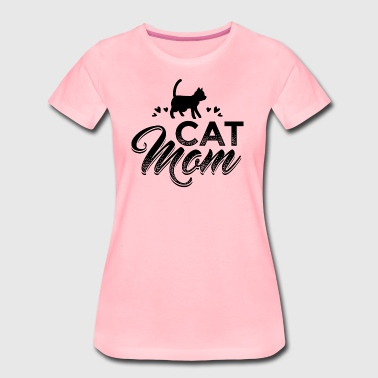 Cat KATZE CAT MOM B - Frauen Premium T-Shirt