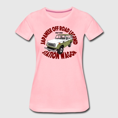 Off Légende Off Road Vert / Blanc - T-shirt Premium Femme