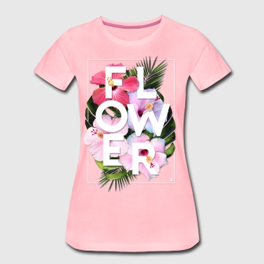 AD Flower - Women's Premium T-Shirt