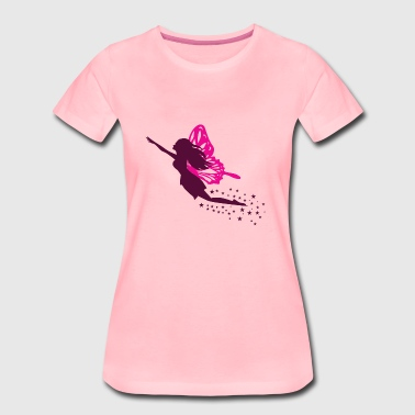 chasing fairy with pixie dust - Women's Premium T-Shirt