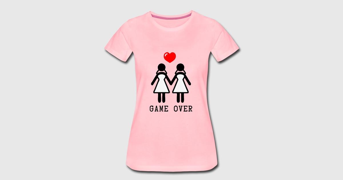 El orgullo de la novia, novia orgullosa LGBT JGA Perro 2 mujeres por ...