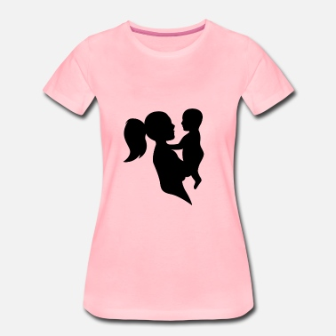 Baby Mother Mother and baby - Women's Premium T-Shirt