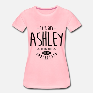 Ashley ASHLEY - Camiseta premium mujer
