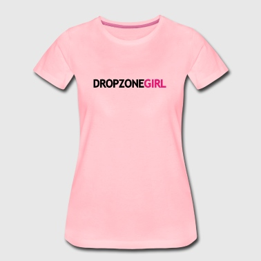 Drop Zone Girl - Women's Premium T-Shirt