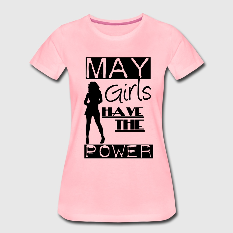 May Girls - Women's Premium T-Shirt
