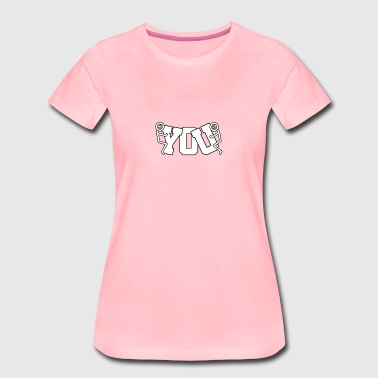 Fuck You Logo # 1 - Women's Premium T-Shirt