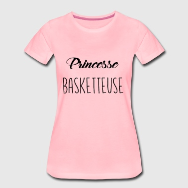 princesse basketteuse - T-shirt Premium Femme