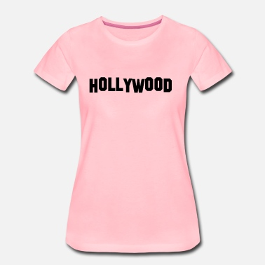 Hollywood HOLLYWOOD gift idea - Women's Premium T-Shirt