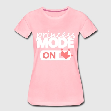 Prinzessinnen Modus an princess mode on lustige - Women's Premium T-Shirt