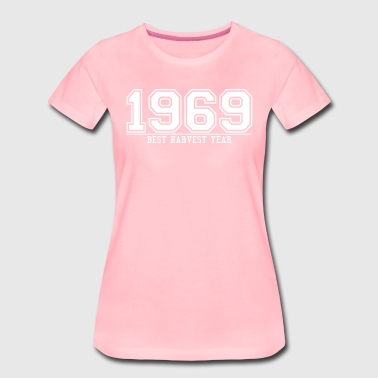 1969 THE year of the best harvest, - Women's Premium T-Shirt