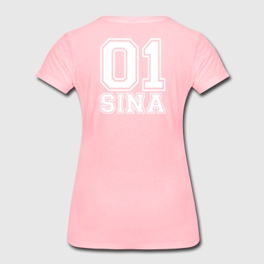 Sina - Name - Frauen Premium T-Shirt