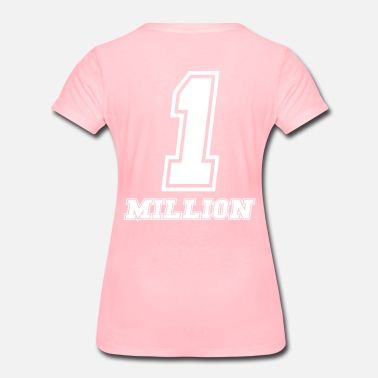 Euro Sports Wear 1 million dollars baby - Women's Premium T-Shirt
