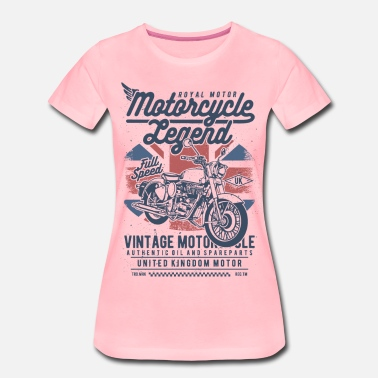 Motorcycle Legend - Frauen Premium T-Shirt