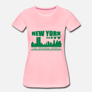 New York City new york city - Premium T-skjorte for kvinner