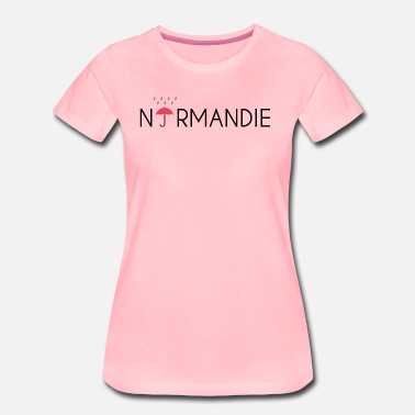 Normandie paraply Normandie - Premium T-skjorte for kvinner