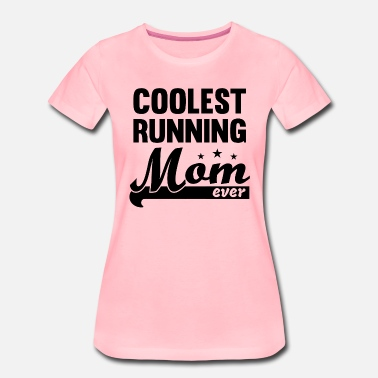 Running Mom - Mom Runner - Jogging - course à pied - T-shirt Premium Femme