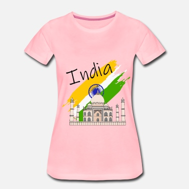 India Taj Mahal - Women's Premium T-Shirt