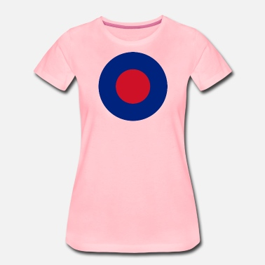 Royale Air Force COCARDE ANGLETERRE - T-shirt Premium Femme