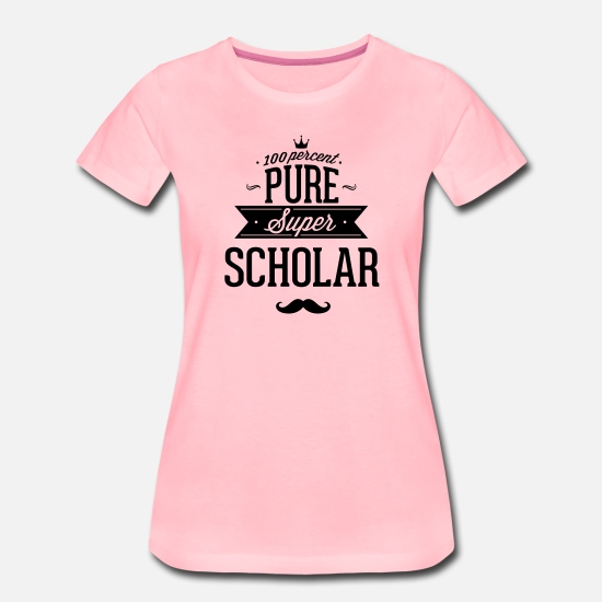 Best T-Shirts - 100% best students of the world - Women's Premium T-Shirt pink