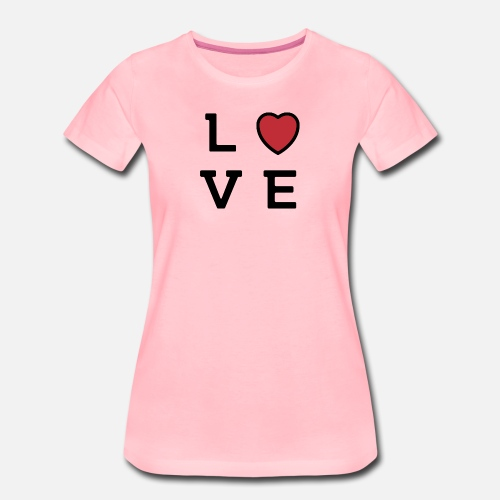 Love Dames Simple Gift Verjaardag Van De Pret Vrouwen Premium T